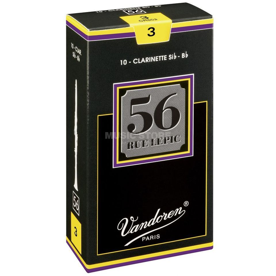 Vandoren 56 Rue Lepic Bb-Clarinet 2.5 Box of 10 Produktbillede