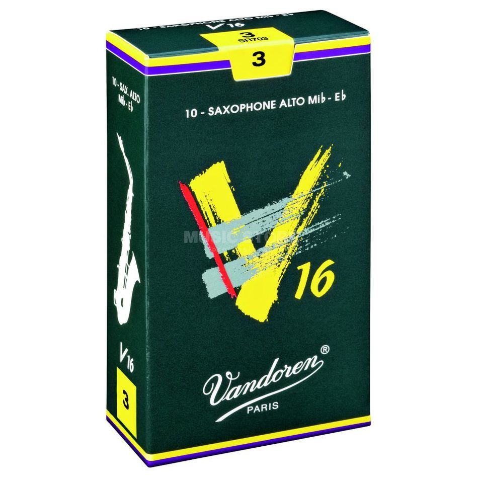 Vandoren V16 Alto Sax Reeds 2.5 Box of 10 Product Image