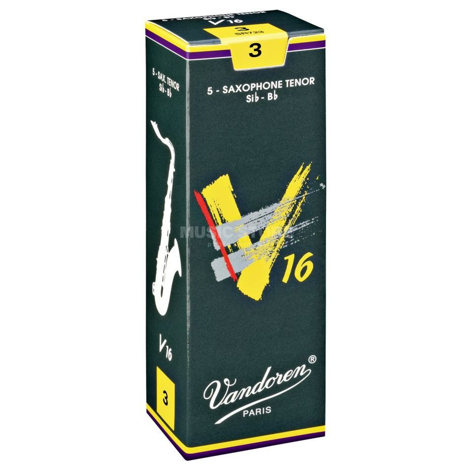 Vandoren V16 Tenor Sax Reeds 3.0 Box of 5 Product Image
