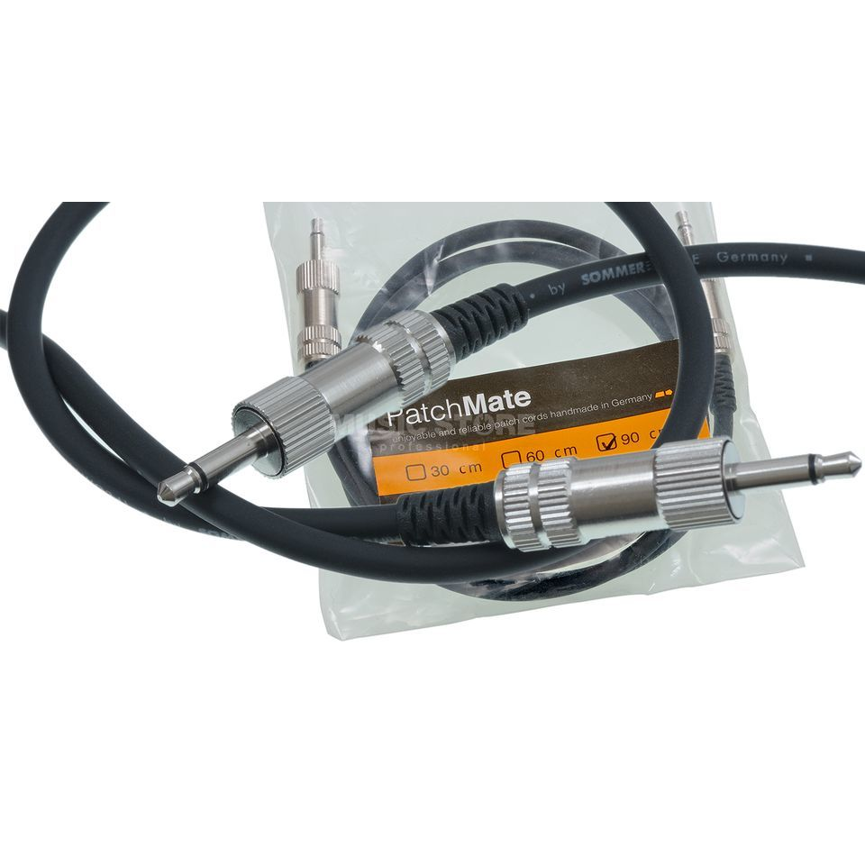 Vermona Modulear Patchmate Cable 90cm deluxe patchcable Produktbillede