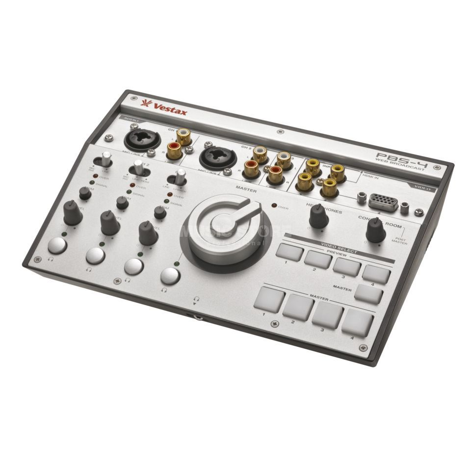 Vestax PBS-4 4-Kanal Broadcast Video-Mixer Produktbild