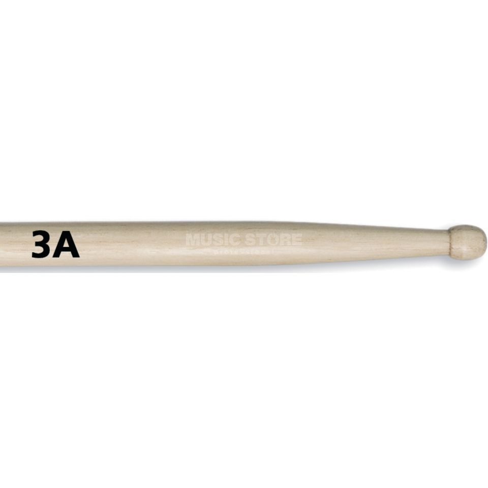 Vic-Firth 3A Sticks, American Classic, Wood Tip Produktbild
