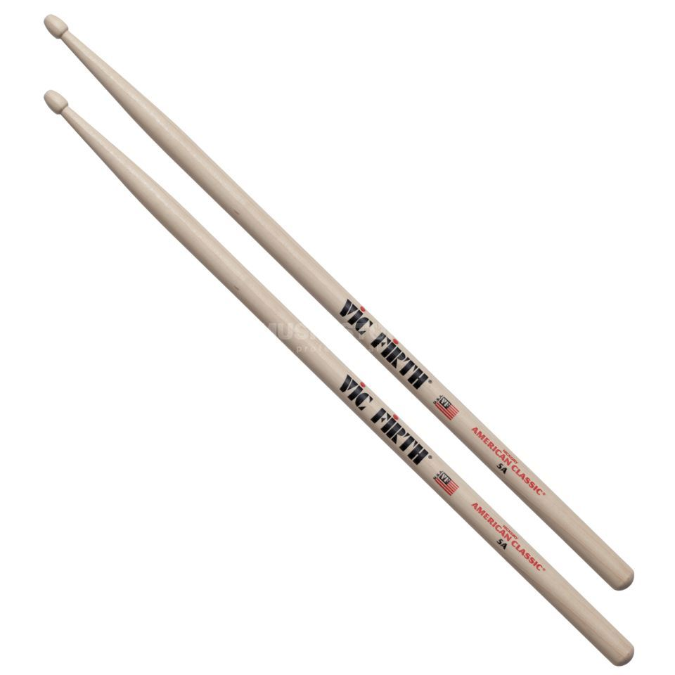 Vic-Firth 5A Sticks, American Classic, Wood Tip Produktbild