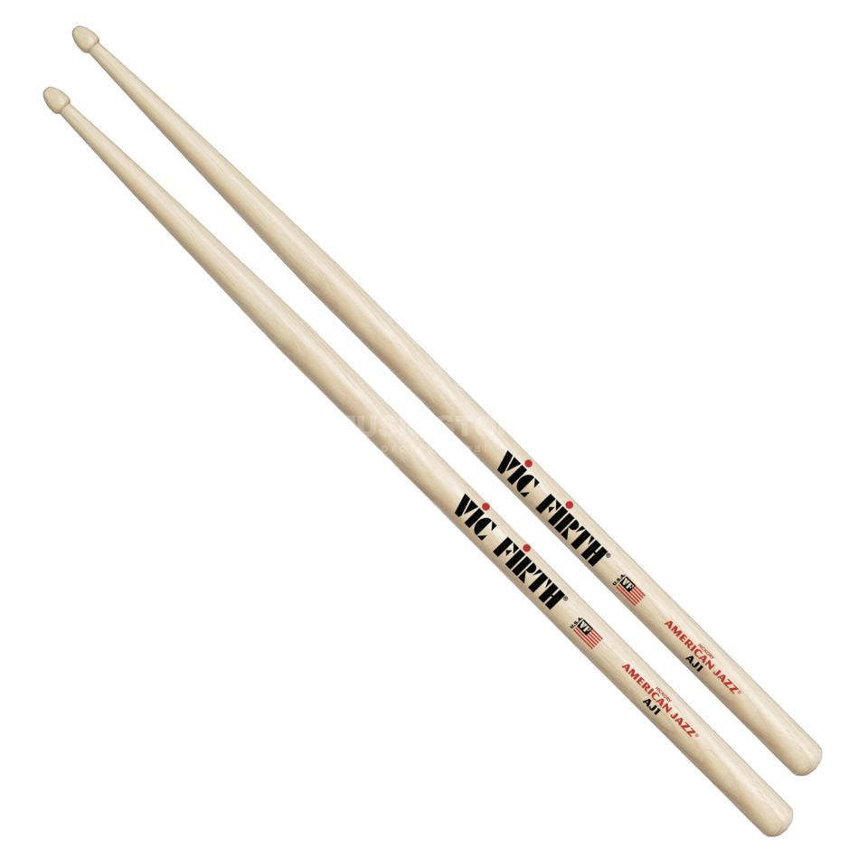 Vic-Firth AJ1 Sticks, American Jazz, Wood Tip Produktbillede
