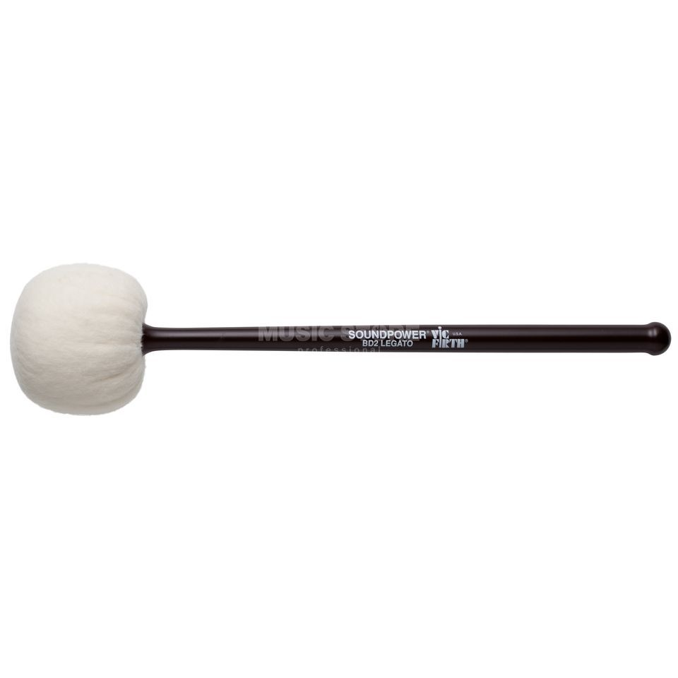 Vic-Firth BassDrum Beater BD2, Legato Product Image