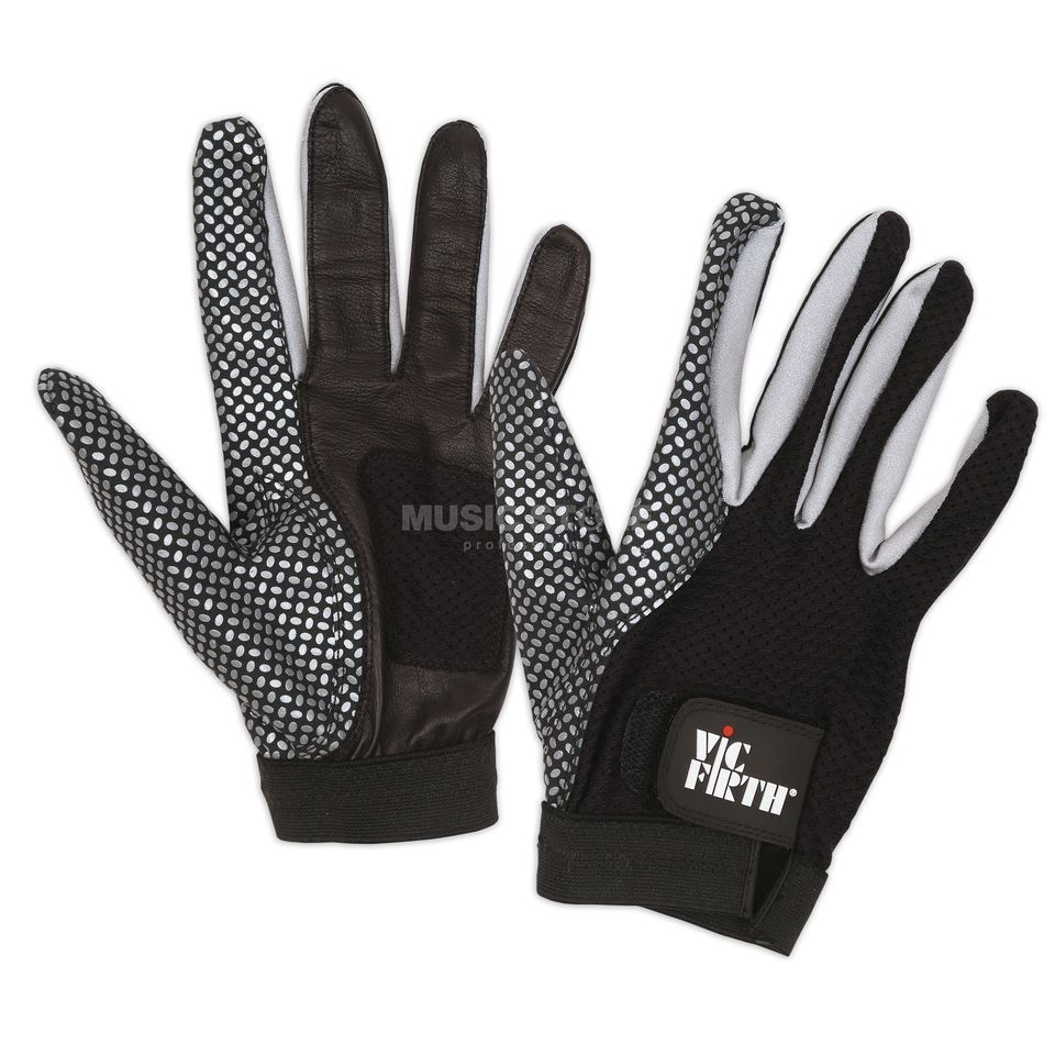"Vic-Firth Drummer Gloves ""Vic Gloves"" Size M Produktbillede"