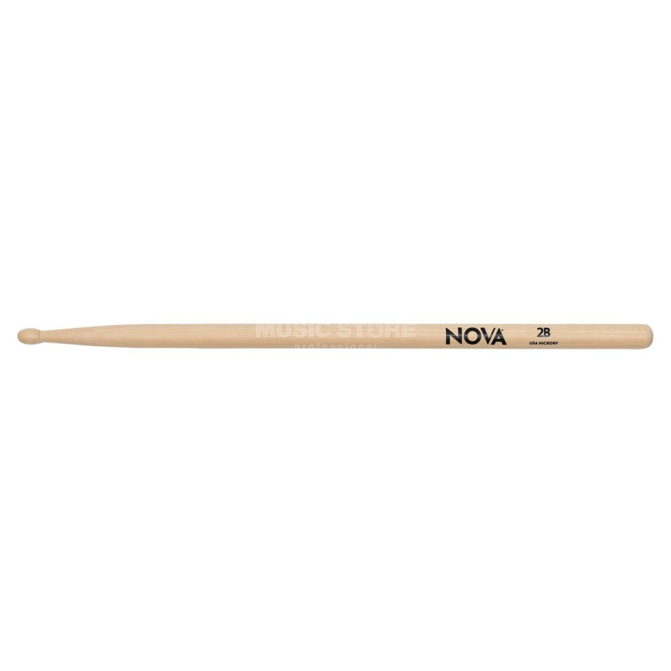 Vic-Firth Nova Drum Sticks 2B, Wood Tip Produktbillede