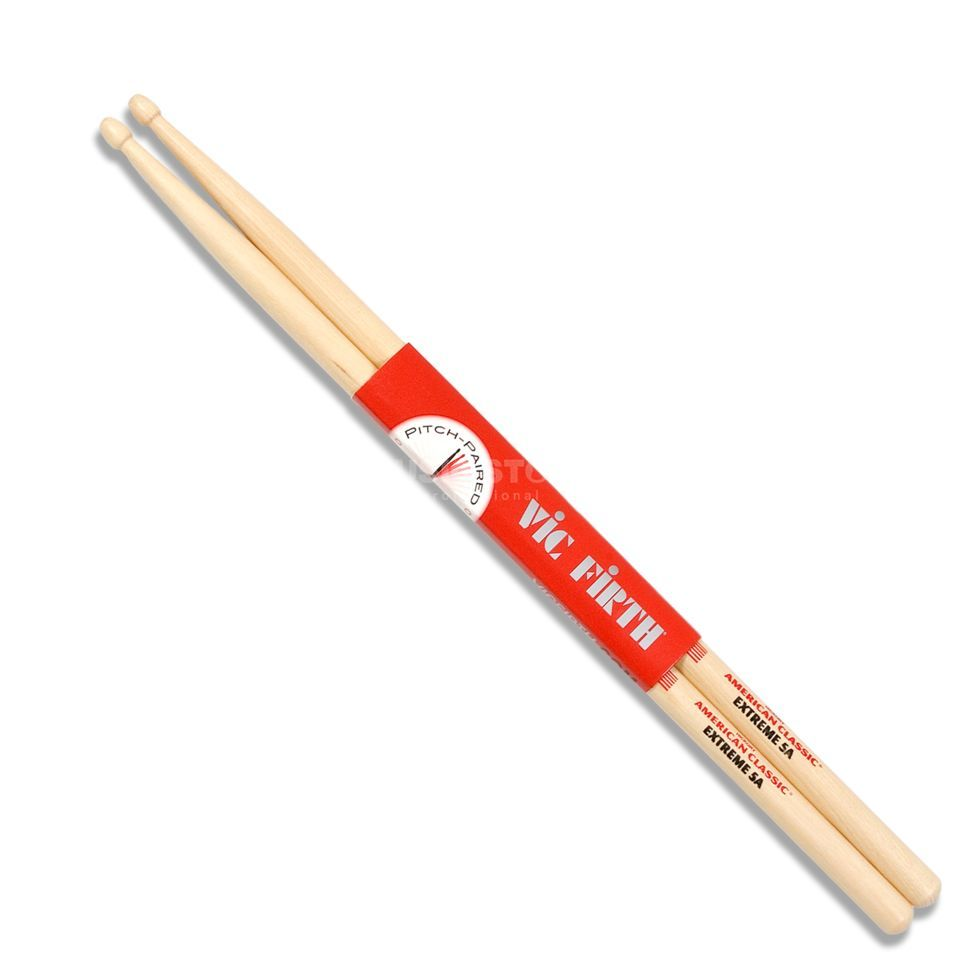 Vic-Firth X5A Extreme Sticks, American Classic, Wood Tip Produktbild