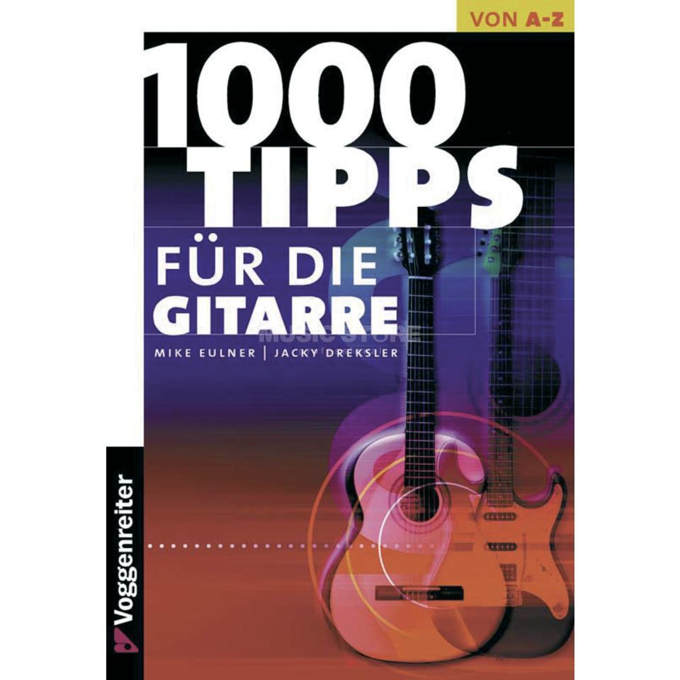 Voggenreiter 1000 Tips for Guitar Mike Eulner Produktbillede