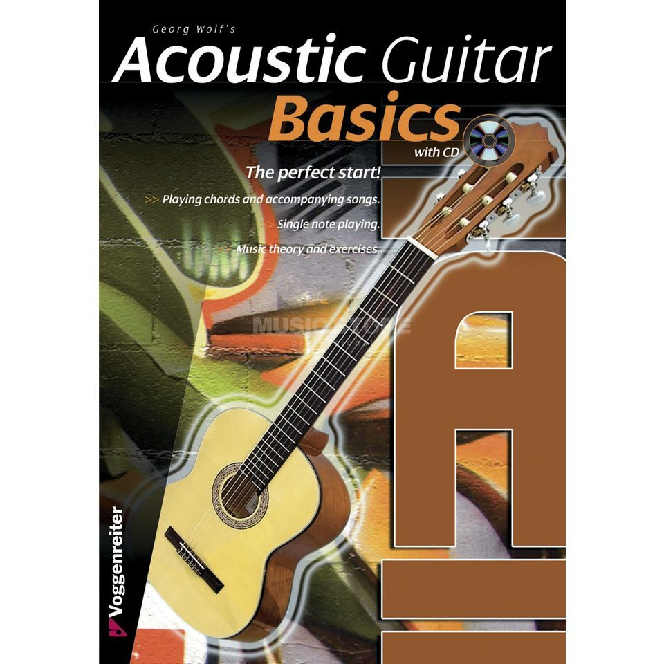 Voggenreiter Acoustic Guitar Basics ENGLISH Türk/Zehe / primer / incl. CD Produktbild
