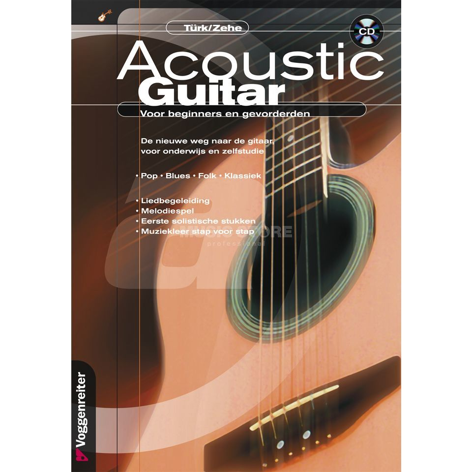 Voggenreiter Acoustic Guitar NEDERLANDS Türk/Zehe / incl. CD Изображение товара