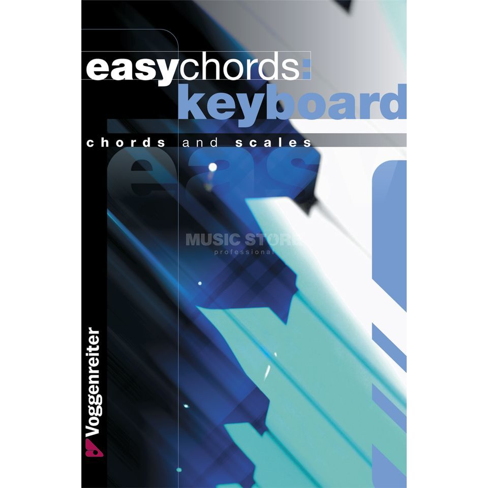 Voggenreiter Easy Chords Keyboard ENGLISH Bessler & Opgenoorth Produktbild