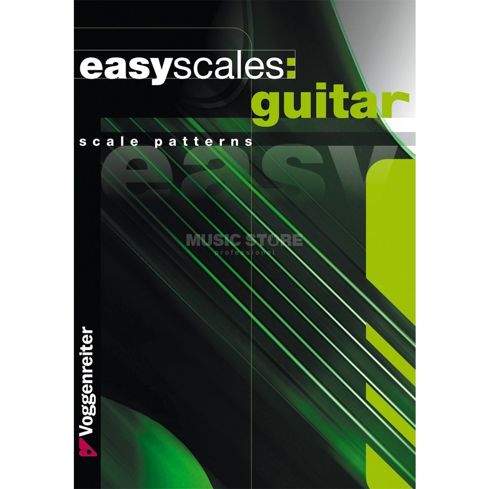 Voggenreiter Easy Scales Guitar ENGLISH Bessler & Opgenoorth Produktbild