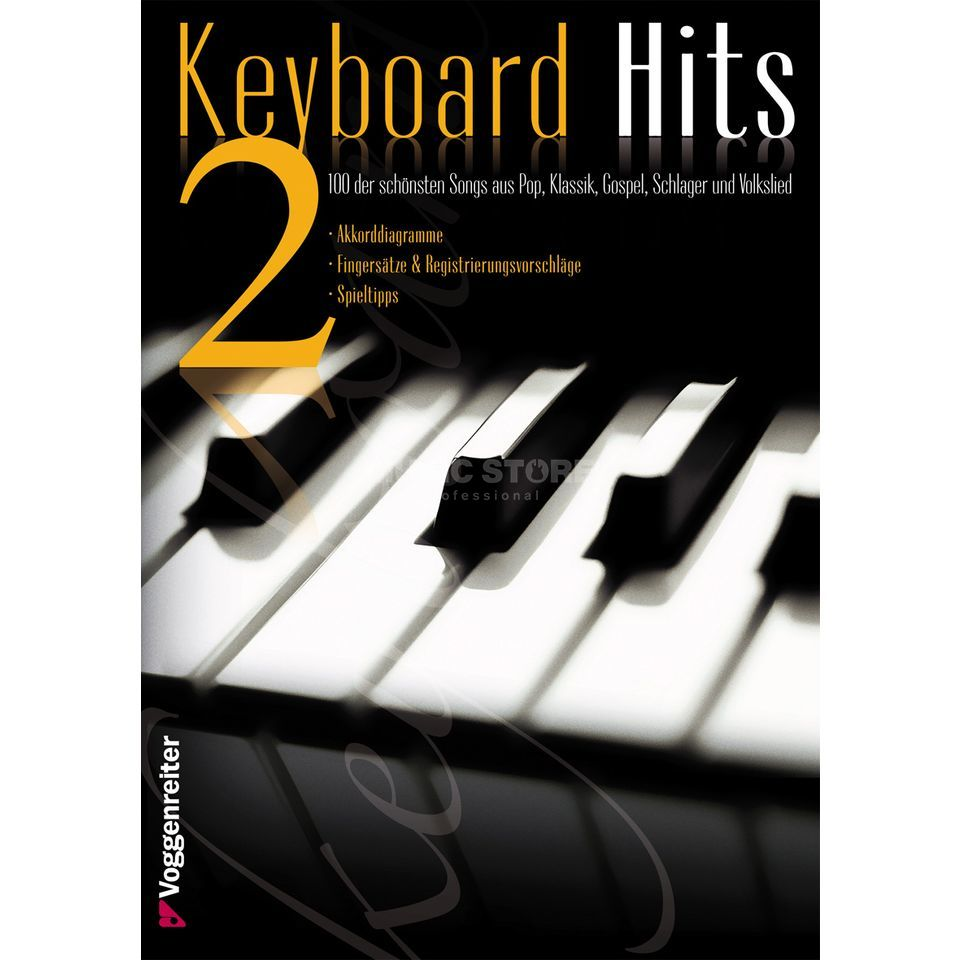 Voggenreiter Keyboard Hits 2 Songbuch Εικόνα προιόντος