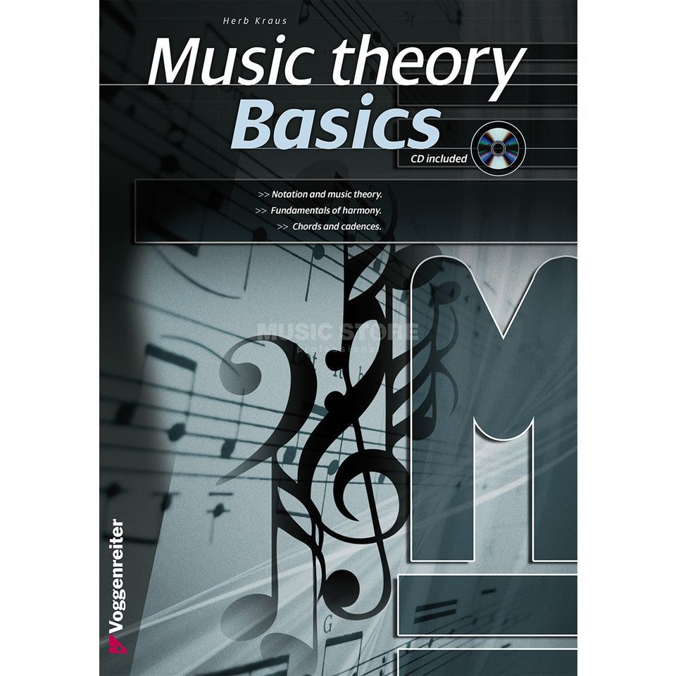 Voggenreiter Music Theory Basics ENGLISH Herbert Kraus / incl. CD Produktbillede