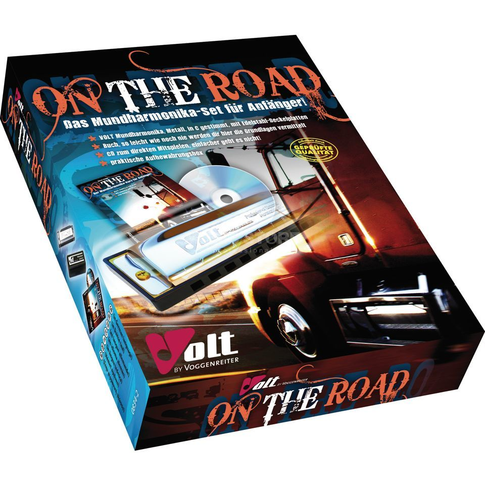 Voggenreiter On the Road Harmonica Set Dieter Kropp, Buch/Muha/CD Produktbillede