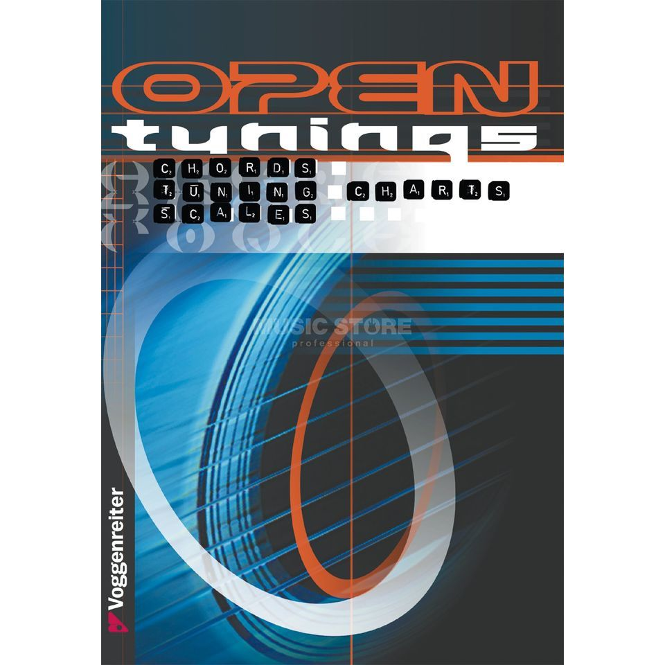 Voggenreiter Open Tunings ENGLISH Klein/Mohr Produktbillede