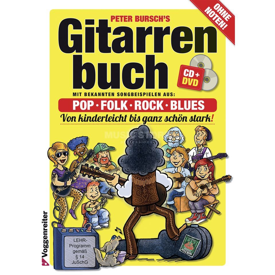 Das gitarrenbuch ii. Inkl. Cd. : amazon. Co. Uk: peter bursch, willi.