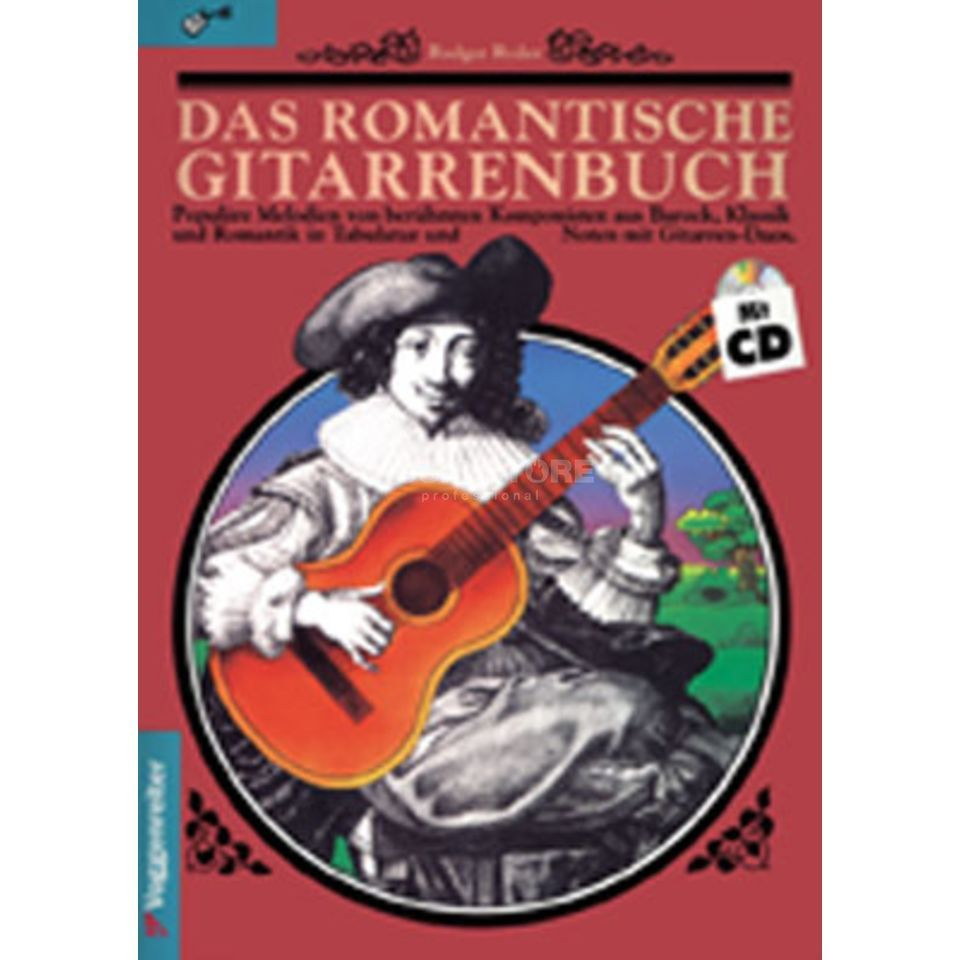 Voggenreiter Romantic Guitar Book Ryder Product Image
