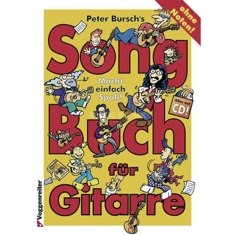 Voggenreiter Song Book for Guitar Bursch Produktbillede