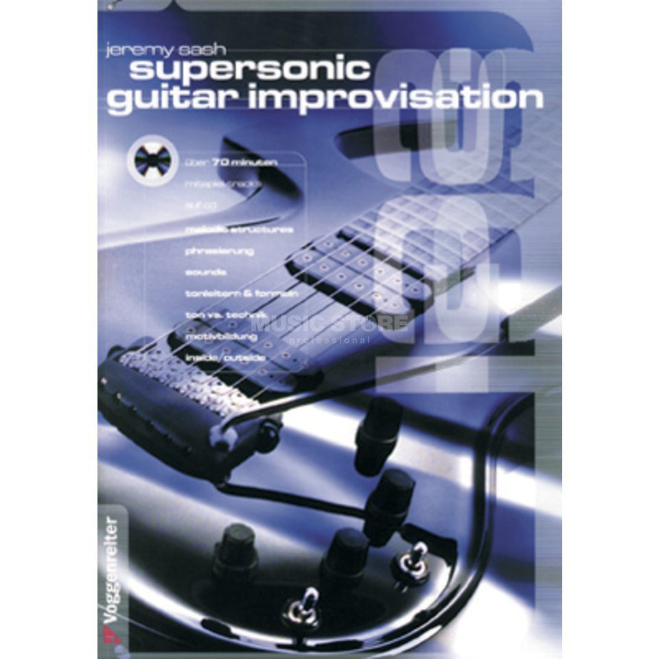 Voggenreiter Supersonic G. Improvisation  Jeremy Sash,inkl. CD Produktbild