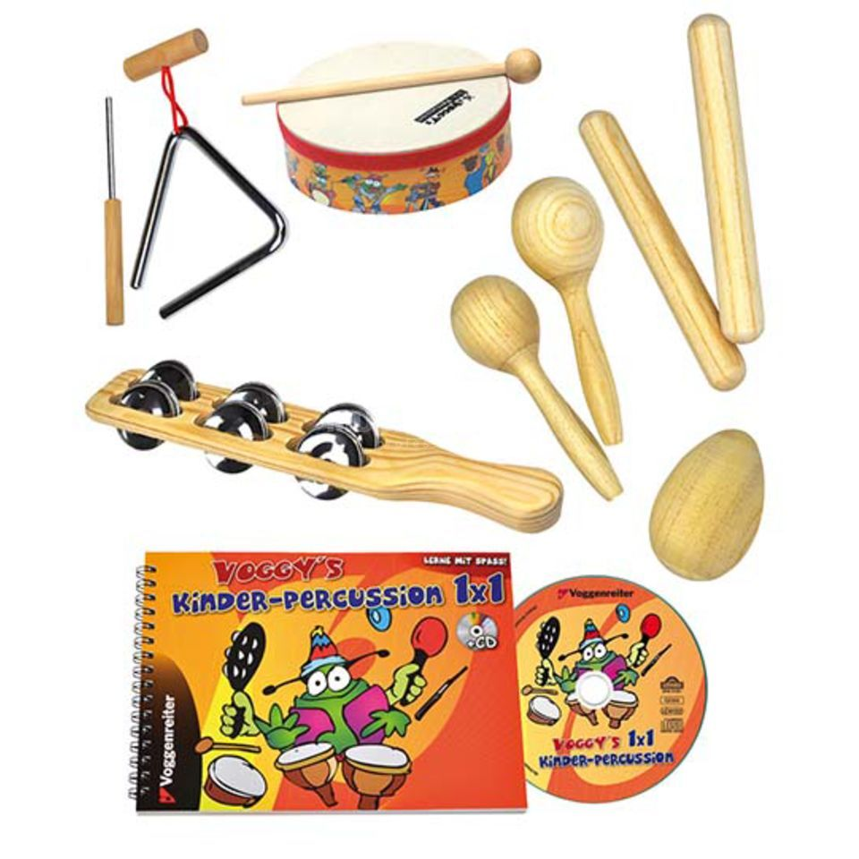 Voggenreiter VOGGY´S Percussion Set  Produktbild