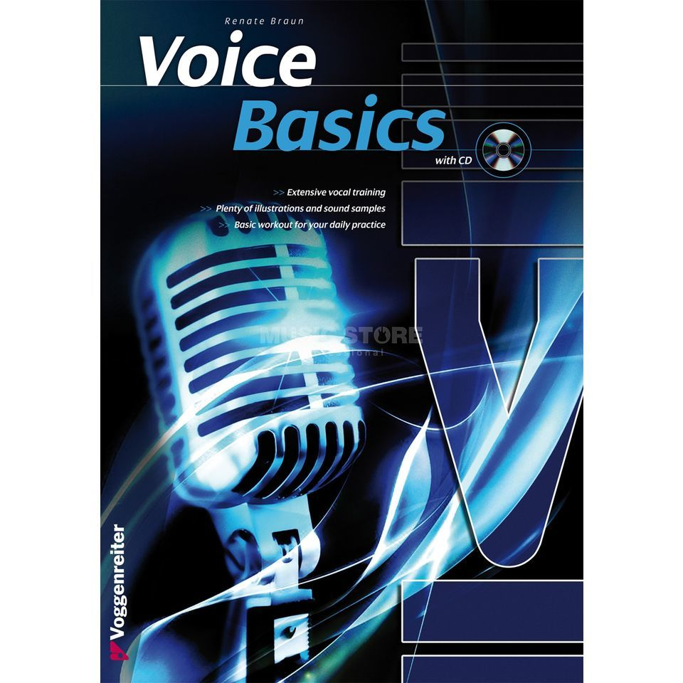 Voggenreiter Voice Basics, englisch Renate Braun, Book/CD Product Image