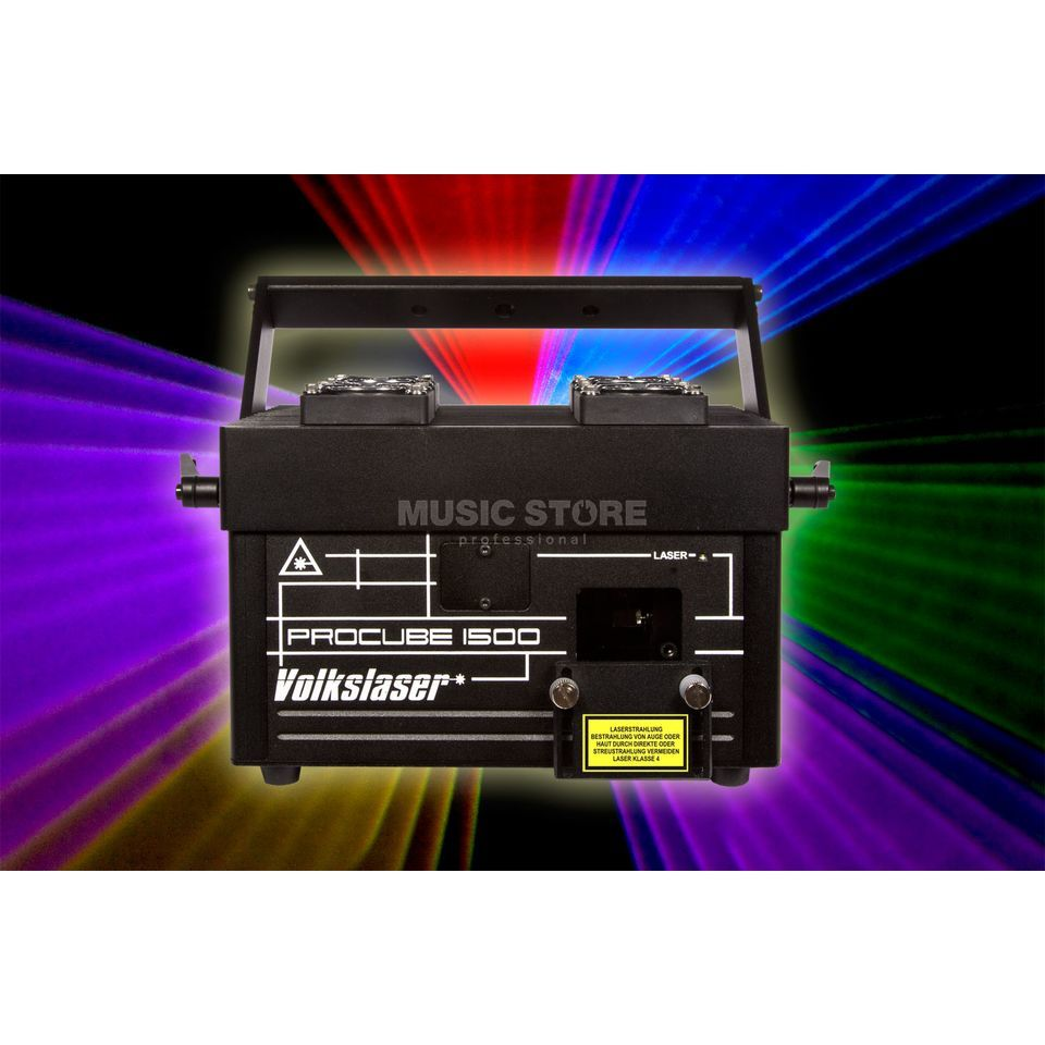Volkslaser ProCube 1500 S RGB incl. Scan Fail Safety! Produktbild