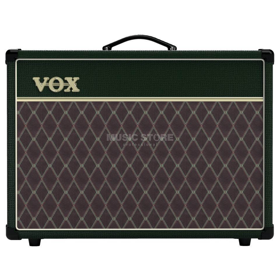 VOX AC15C1 Limited Edition British Racing Green Produktbillede