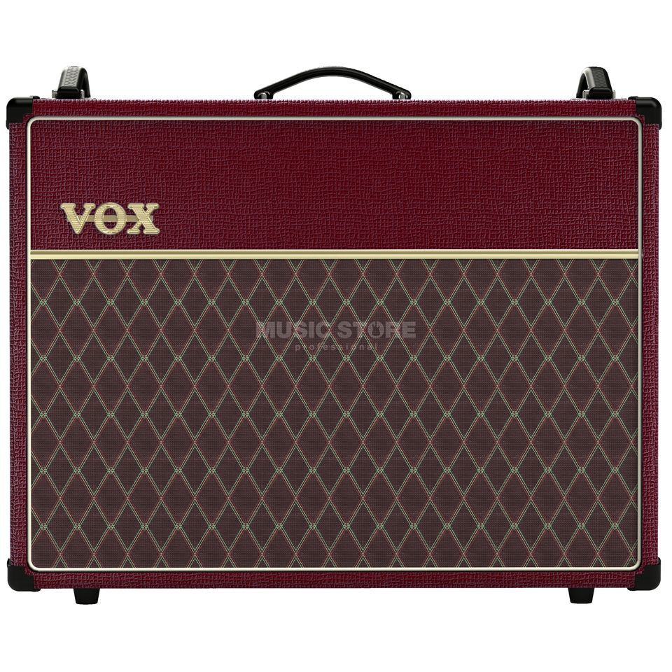 VOX AC30C2 Combo Limited Edition Maroon Bronco Product Image