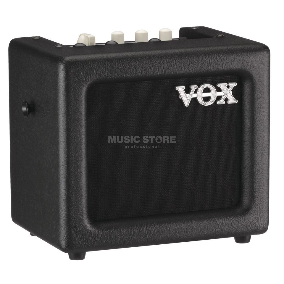 "VOX MINI 3 G2 Combo BK Black, 3 Watts, 1x5"" Speaker Produktbillede"