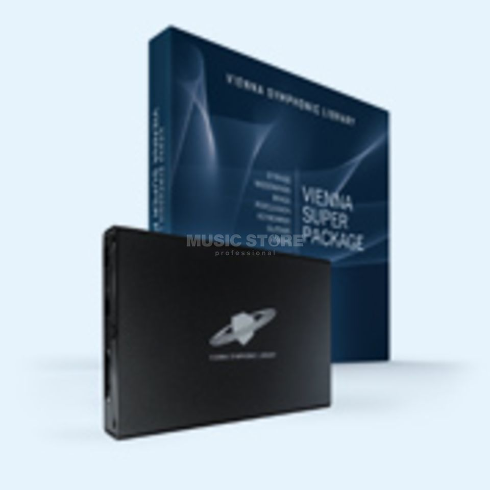 VSL Vienna Hard Drive 640 GB USB HD with all VSL Files Produktbillede