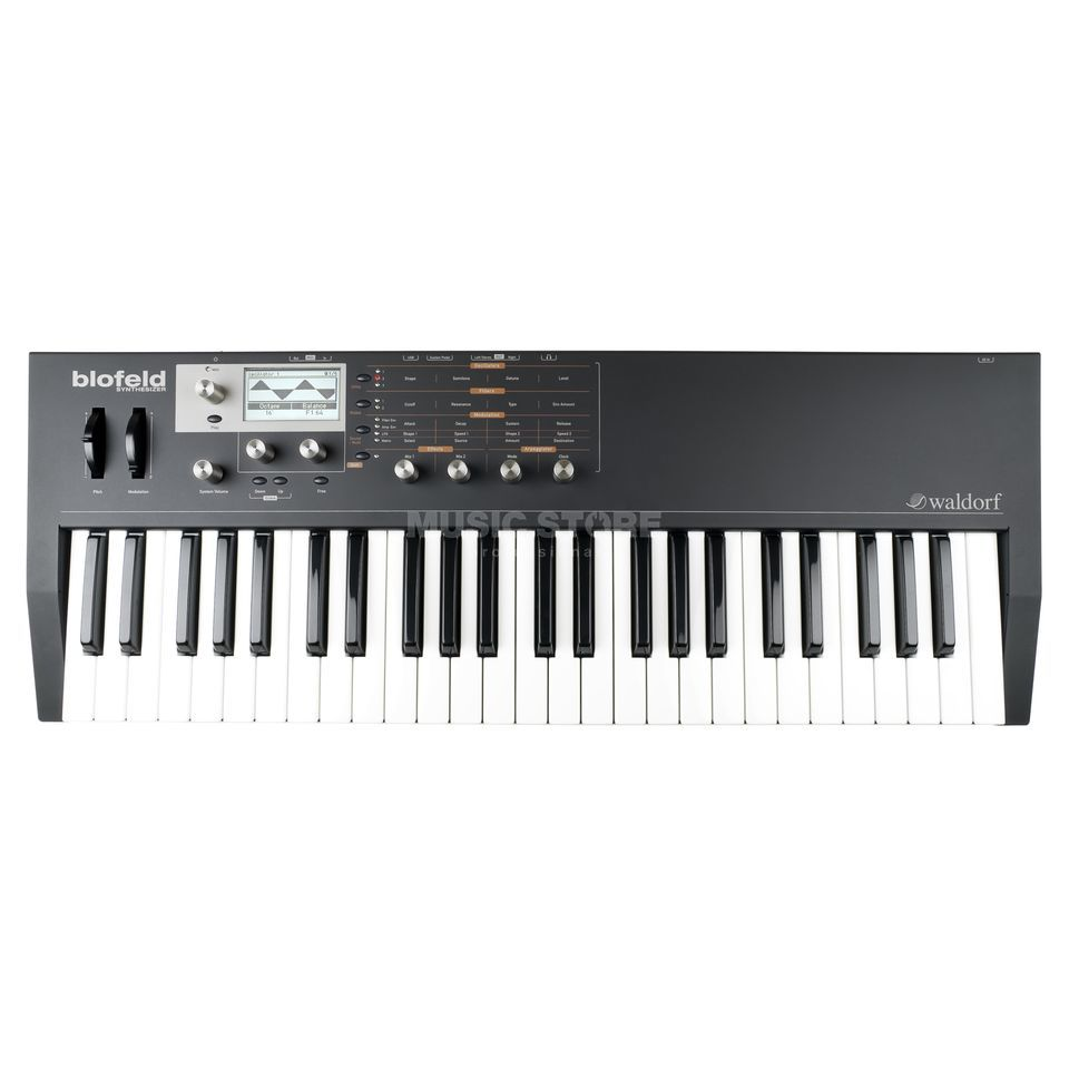 Waldorf Blofeld Keyboard black Synthesizer Produktbillede