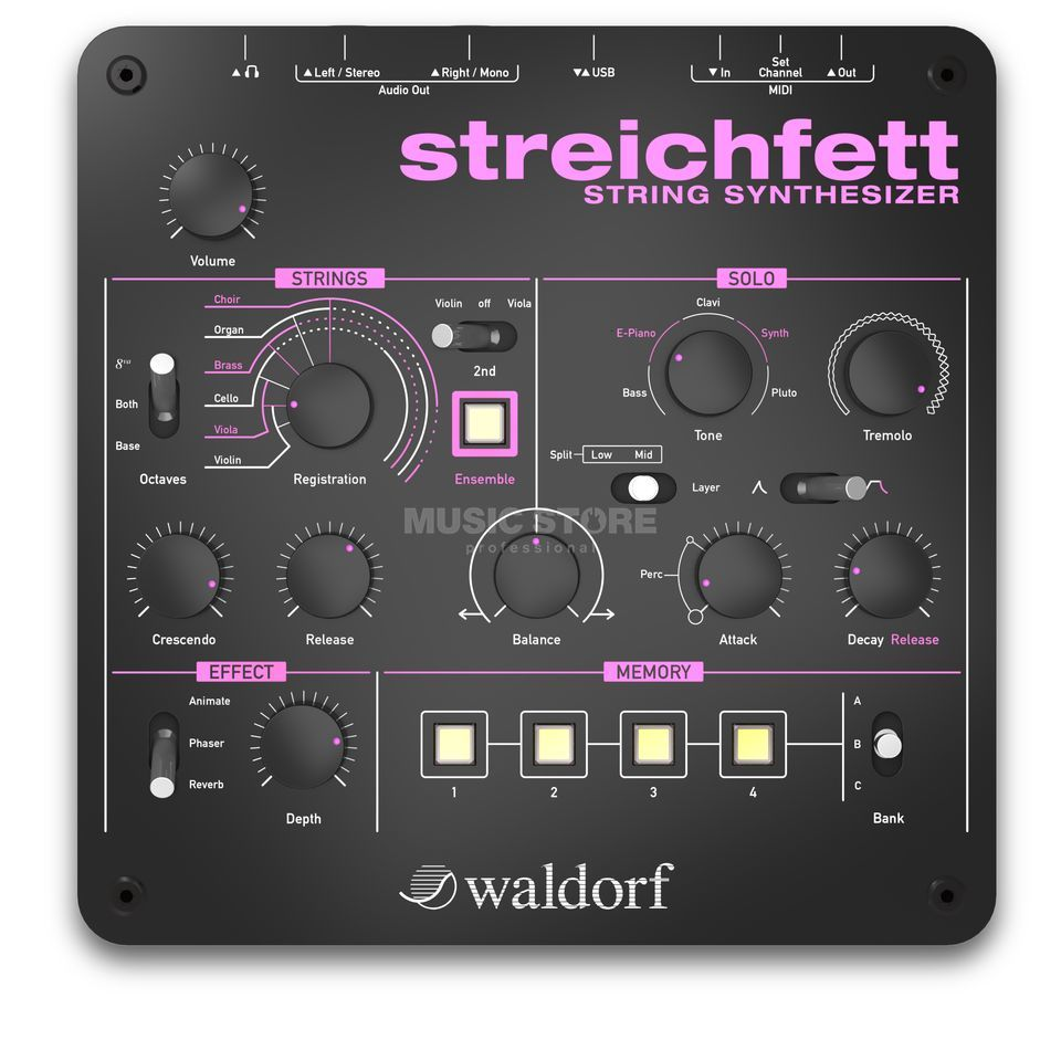 Waldorf Streichfett String Synthesizer Product Image
