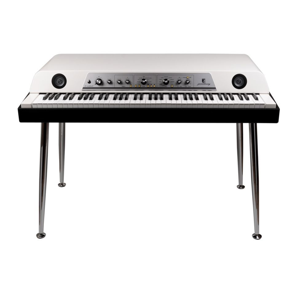 Waldorf Zarenbourg Stage Piano, Off White Product Image