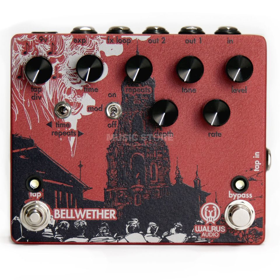 Walrus Audio Bellwether Analog Delay Produktbillede