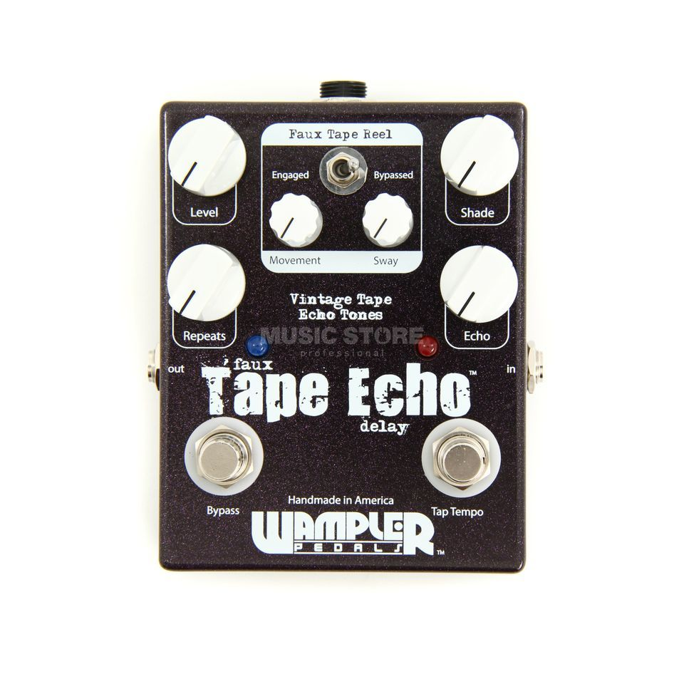 wampler faux tape echo manual