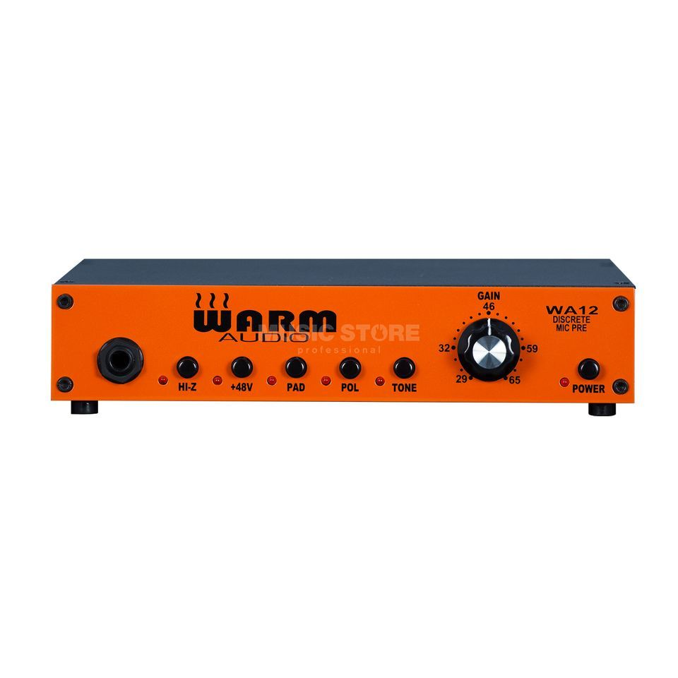 Warm Audio WA12 Microphone Pre -Amplifier & DI Produktbillede