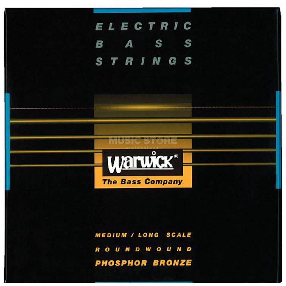 Warwick 4 Bass Strings Ak.4-string 45-105 Medium Scale, Phosphor Bronze Produktbillede