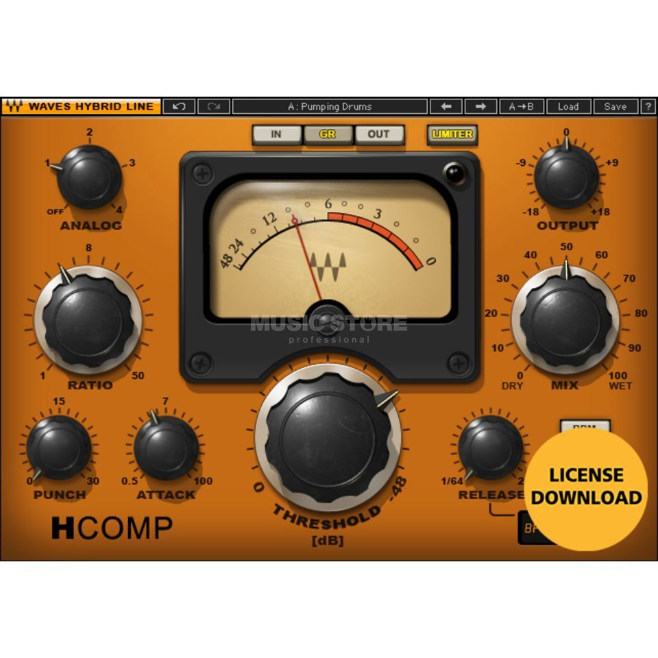 Waves H-Comp  Produktbillede