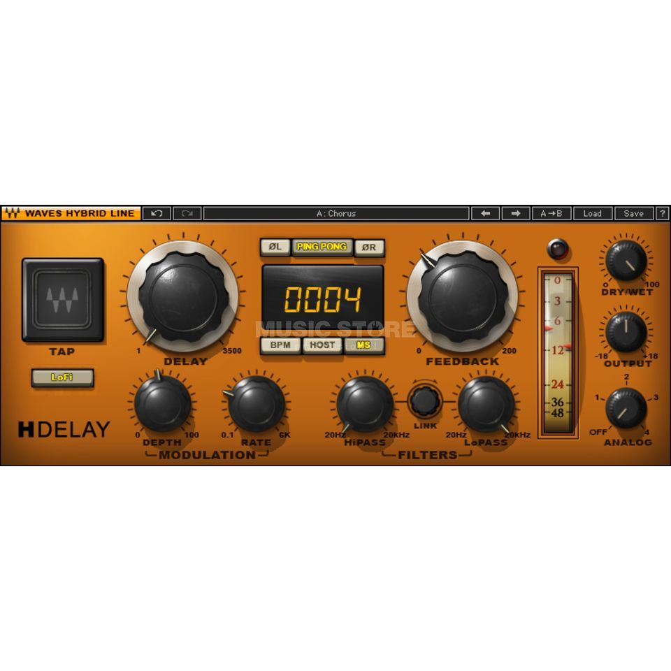 Waves H-Delay  Produktbild