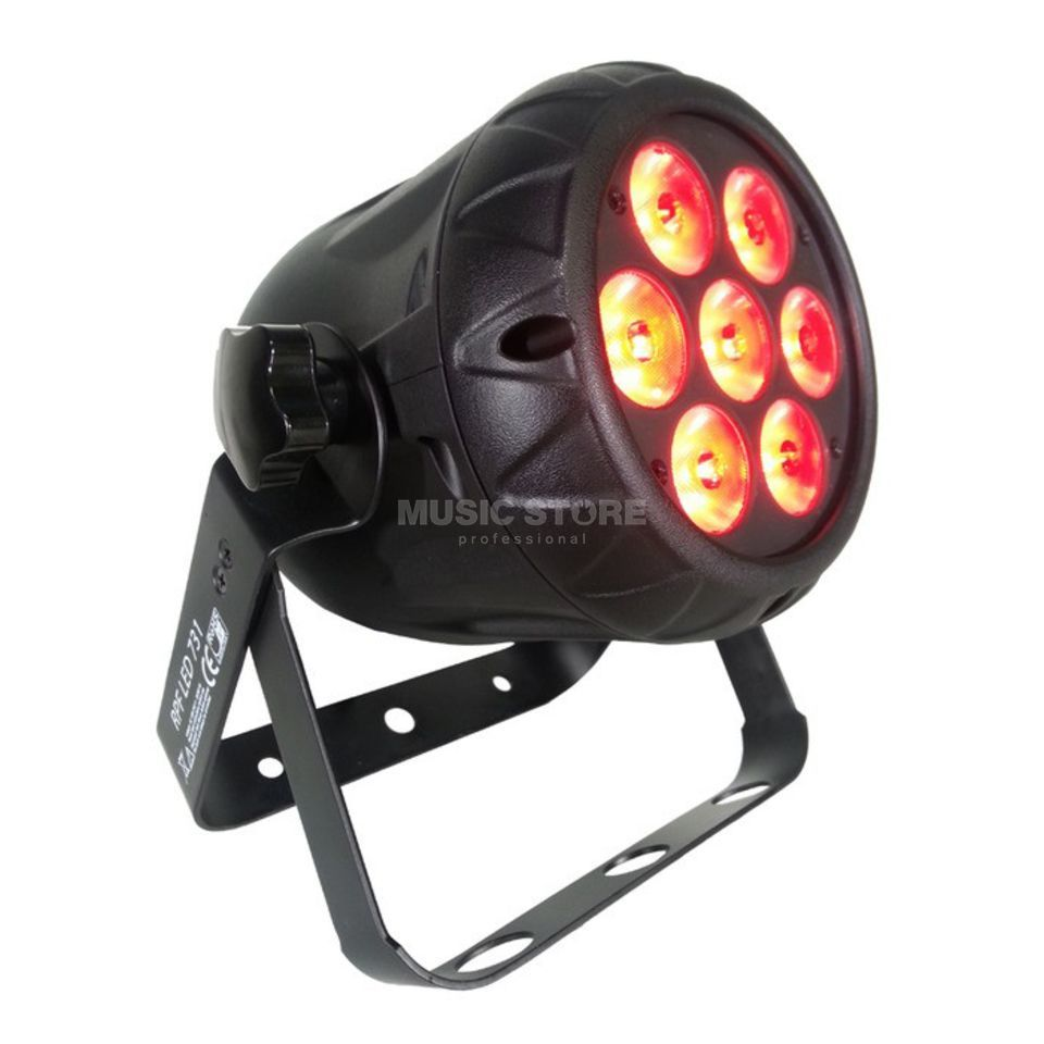 Welaku Performance Fixture RPF 731 7x 3in1 3W RGB LED Produktbild