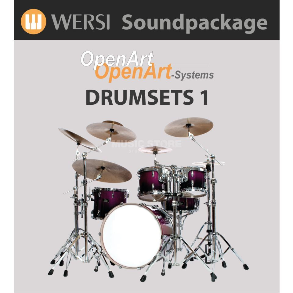 Wersi Drumsets 1 (4003065) Soundpackage for OAS Produktbillede