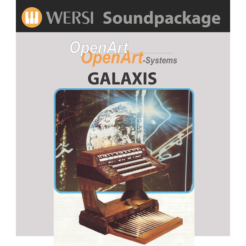 Wersi Galaxis Sounds (4003310) Soundpackage for OAS Produktbillede