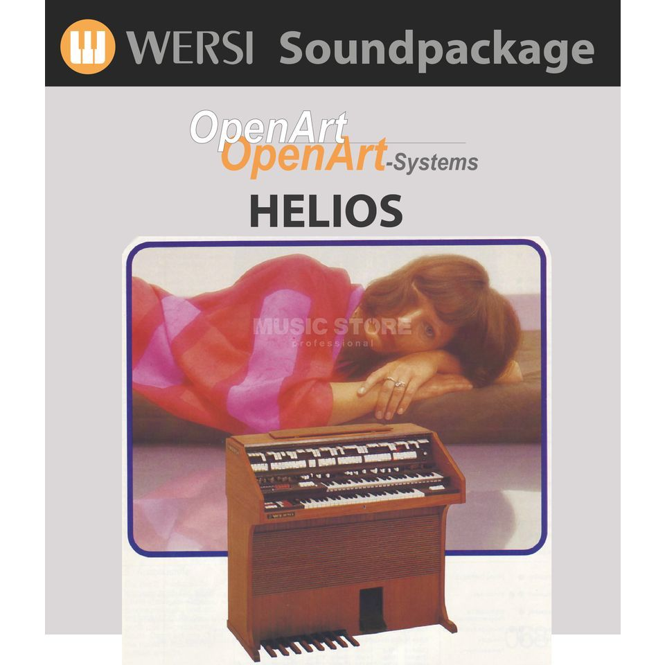 Wersi Helios KlangColours (4003320) Soundpackage for OAS Produktbillede