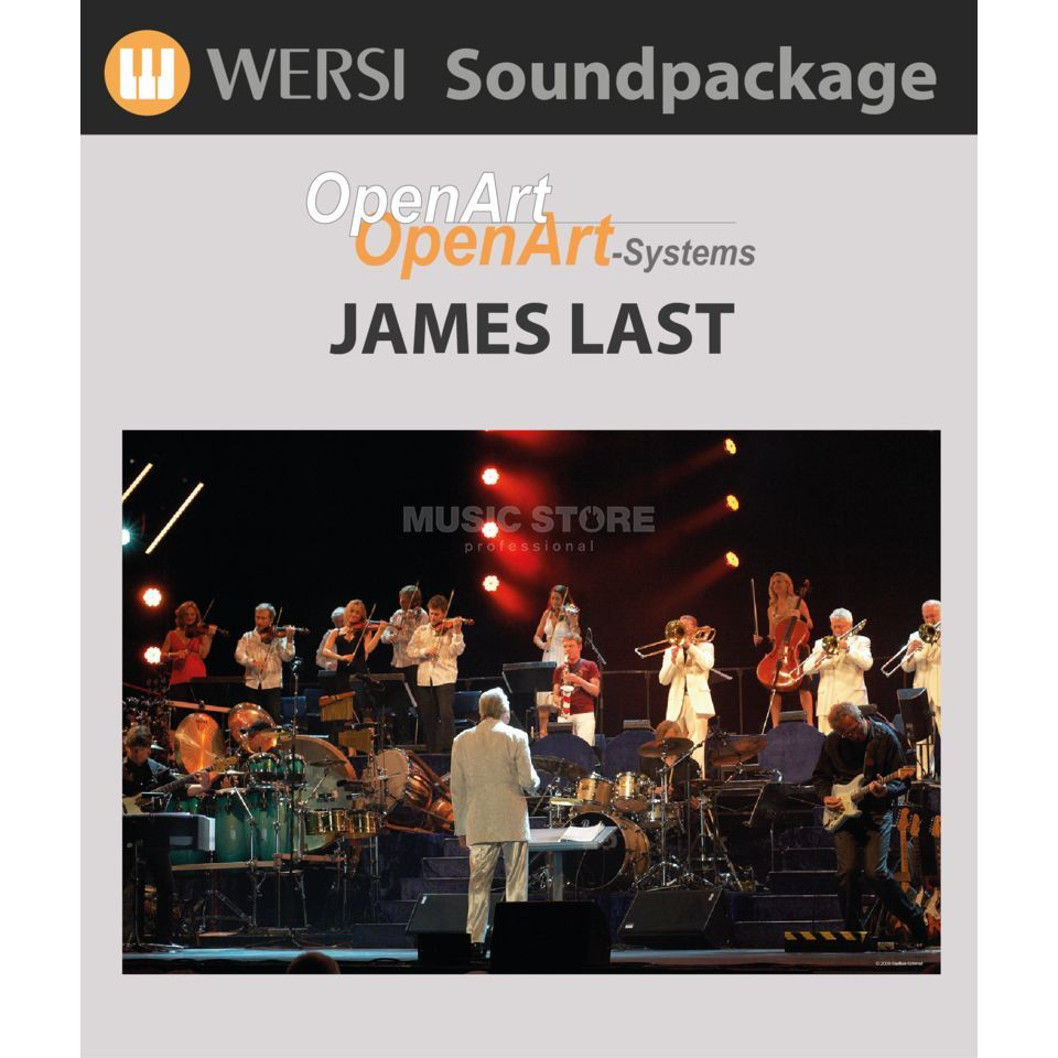 Wersi James Last Soundpackage für OAS Produktbild