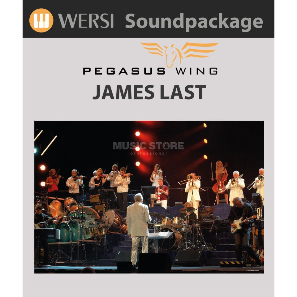 Wersi James Last Soundpackage für Pegasus Wing Produktbild