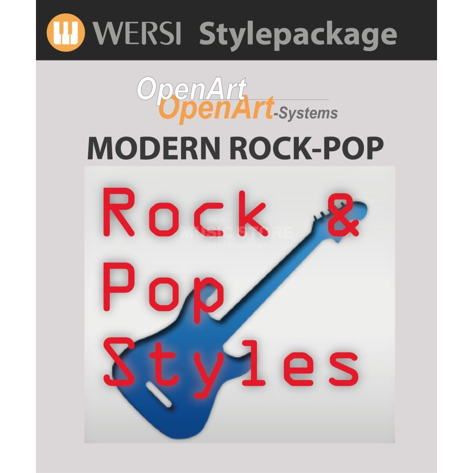 Wersi Modern Rock/Pop Stylepaket Soundpackage OAS Produktbild