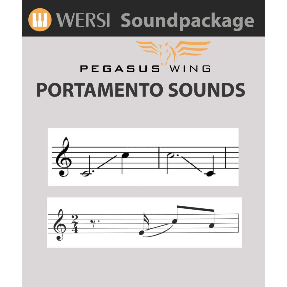 Wersi Portamento Sound Expansion for Pegasus Wing Produktbillede