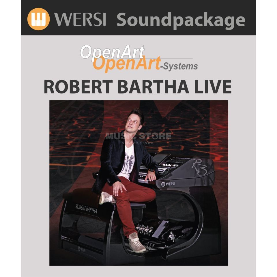 Wersi Robert Bartha Live Edition Soundpackage u. Regis. OAS Produktbild